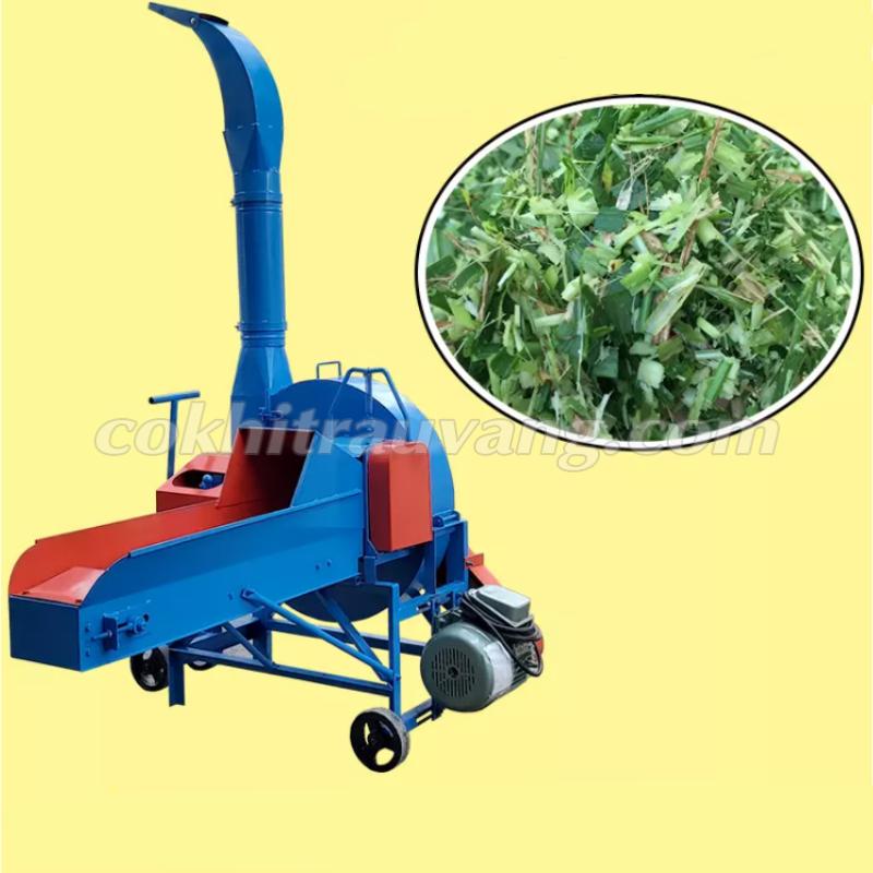 máy băm cỏ voi công nghiệp 5,5kW